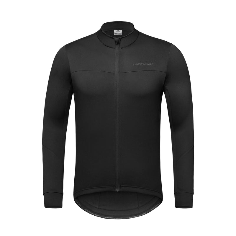 Men's cycling Thermal jersey long sleeves, BASIC SERIES, Przewalski
