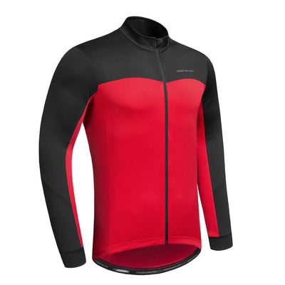 Men's cycling Thermal jersey long sleeves, BASIC SERIES, Przewalski - Przewalski