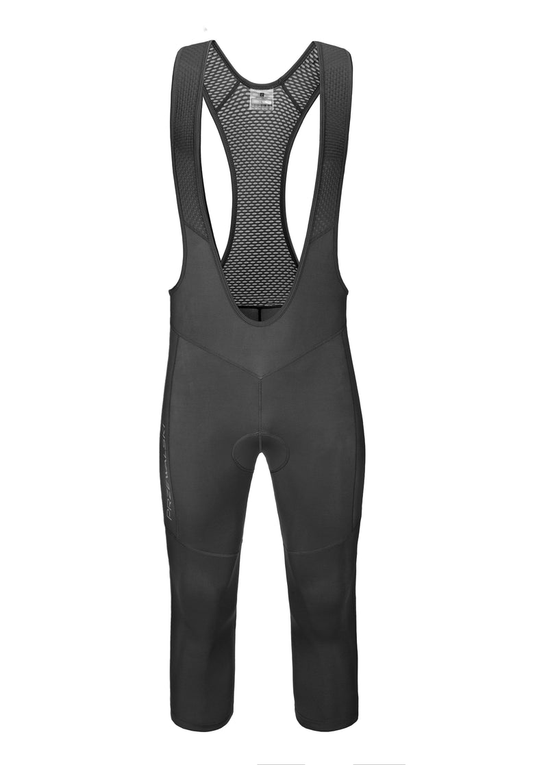 4D Padded Men's 3/4 Cycling Bib Shorts, BASIC SERIES, Przewalski