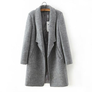 Manteau col long