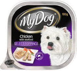 My Dog Chicken with Seafood Select Toppings 100g
