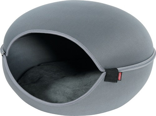 Zolux Louna Cat Dome Grey Cat Kitten Bed