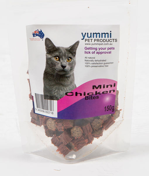 Cat Mini Chicken Bites 150g
