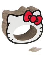Hello Kitty Scratchastic Cardboard Cat Scratcher - White
