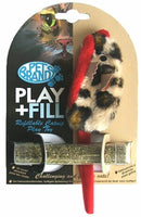 Play + Fill Refillable Cat Toy