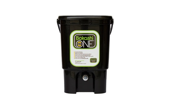 Bokashi One Single Bucket - Black