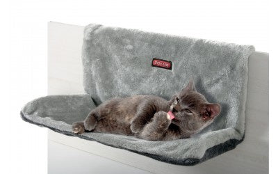Cat Radiator Hammock Grey