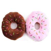 Donut Squeaky Toy – various colours