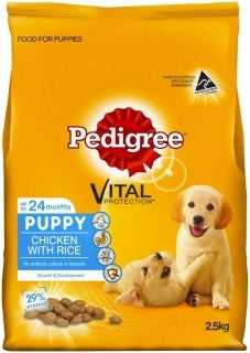 Pedigree Puppy Chicken & Rice 2.5kg