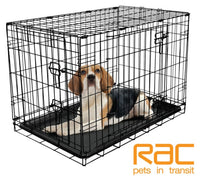 RAC Metal Fold Flat Pet Crate