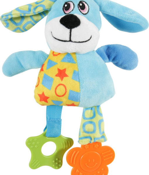 Puppy Plush Toy - Dog Blue