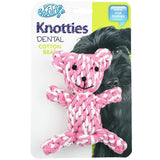 Knotties Dental Cotton Teddy Bear