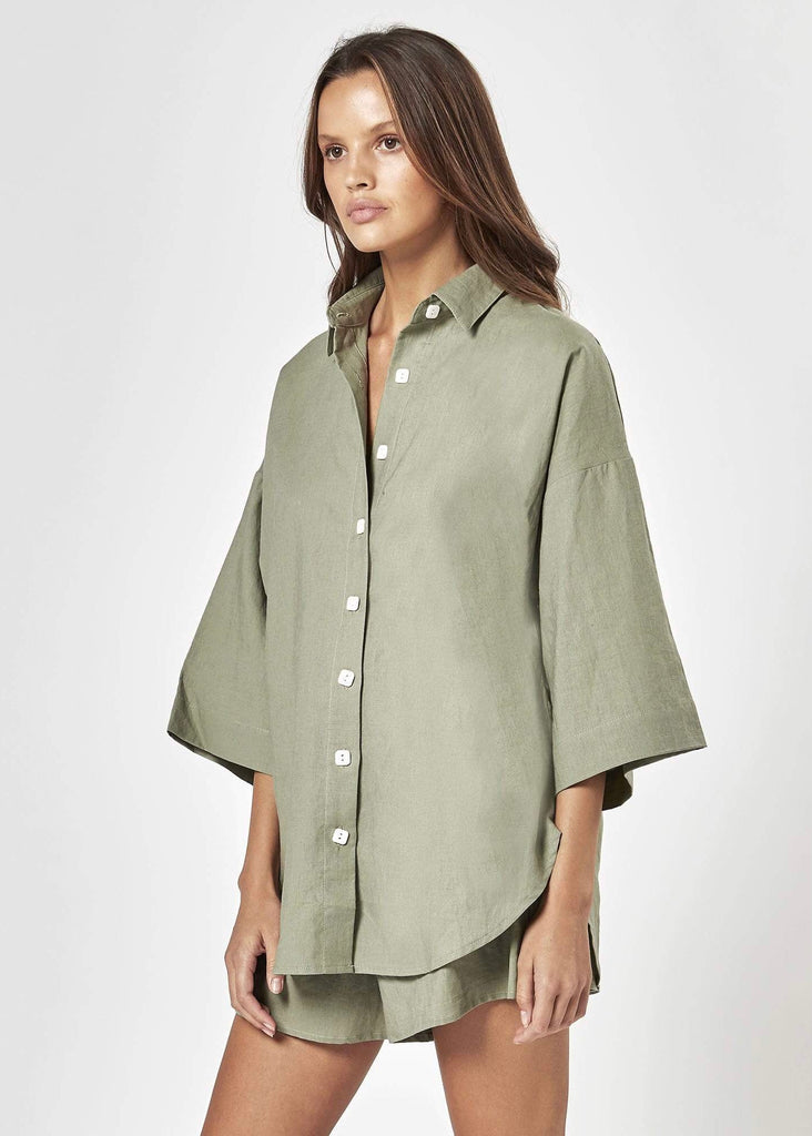 CHARLIE HOLIDAY | HARLOW OVERSIZED SHIRT