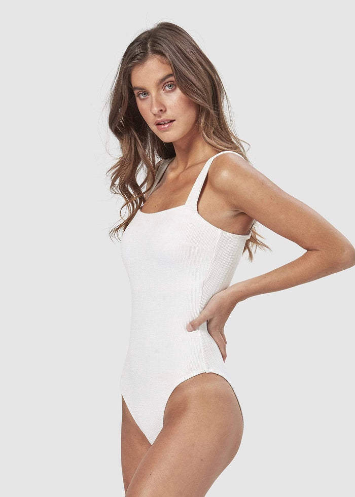 CHARLIE HOLIDAY | MIAMI ONE PIECE WHITE