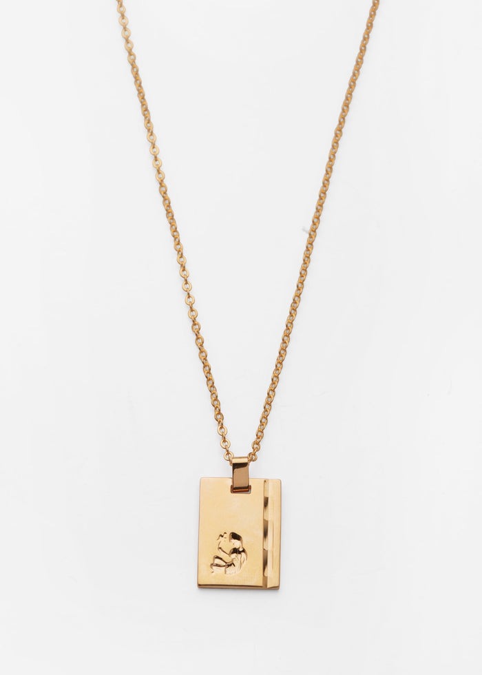 RELIQUIA | GOLD STAR SIGN NECKLACE VIRGO
