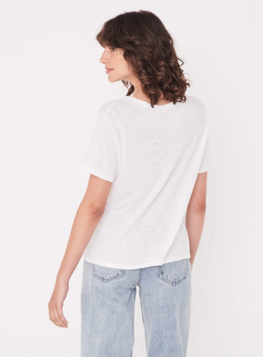 ASSEMBLY LABEL |  LINEN TEE WHITE