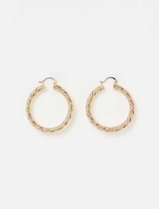RELIQUIA JEWELLERY | ROPE HOOPS