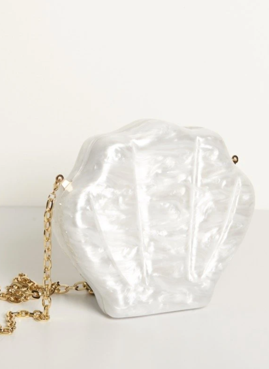 Reliquia Jewellery | CLAM BAG CREAM