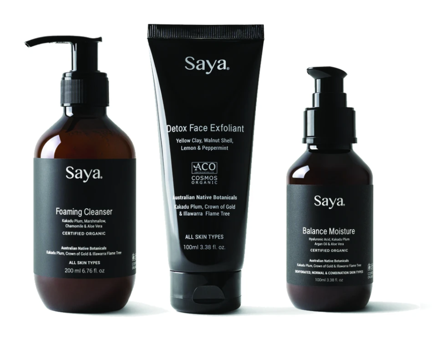 SAYA Skincare | 123 Skin Essentials Kit Normal / Combination / Oily Skin types