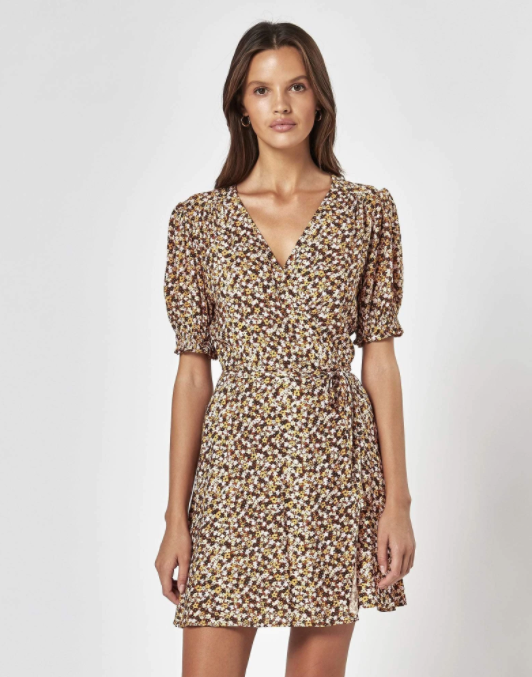 CHARLIE HOLIDAY |  SOFIA WRAP DRESS