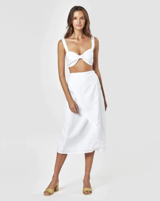 CHARLIE HOLIDAY |  MILA WRAP SKIRT