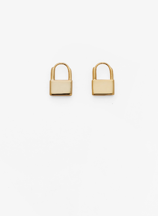 Reliquia Jewellery | LOCK EARRINGS
