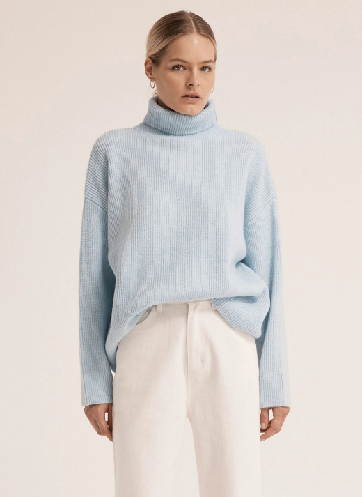 THIRD FORM | OVERSIZED KNIT TURTLENECK
