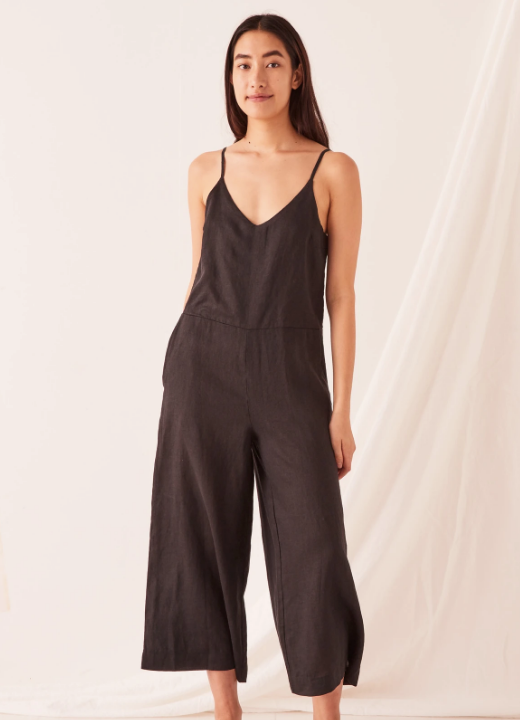 ASSEMBLY LABEL | WIDE LEG LINEN JUMPSUIT