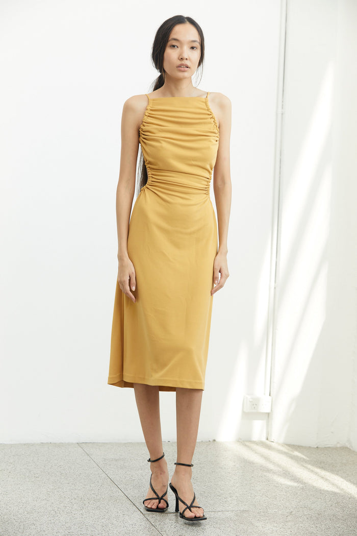 THIRD FORM | LURE IN MIDI DRESS | DANDELION