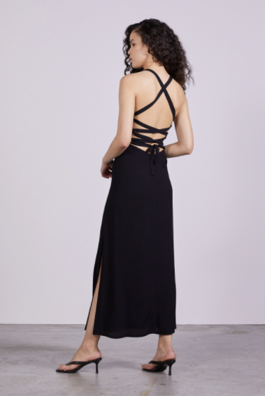 THIRD FORM | BOUQUET LACE BACK SLIP DRESS