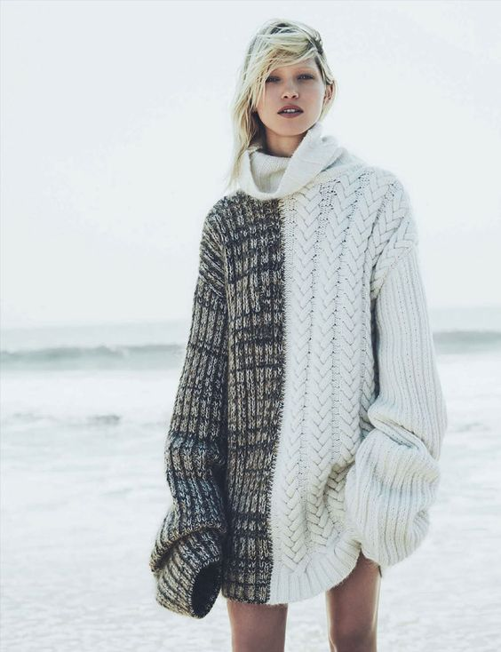 Leoni & Vonk's pick of oversized knits for winter