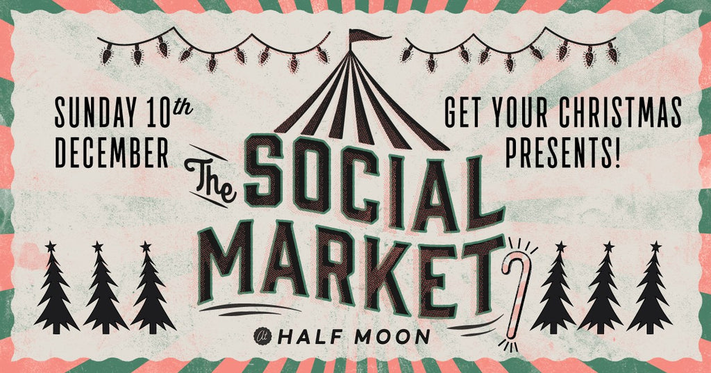 Leoni & Vonk at the Social market , Brighton on Sunday 10 December