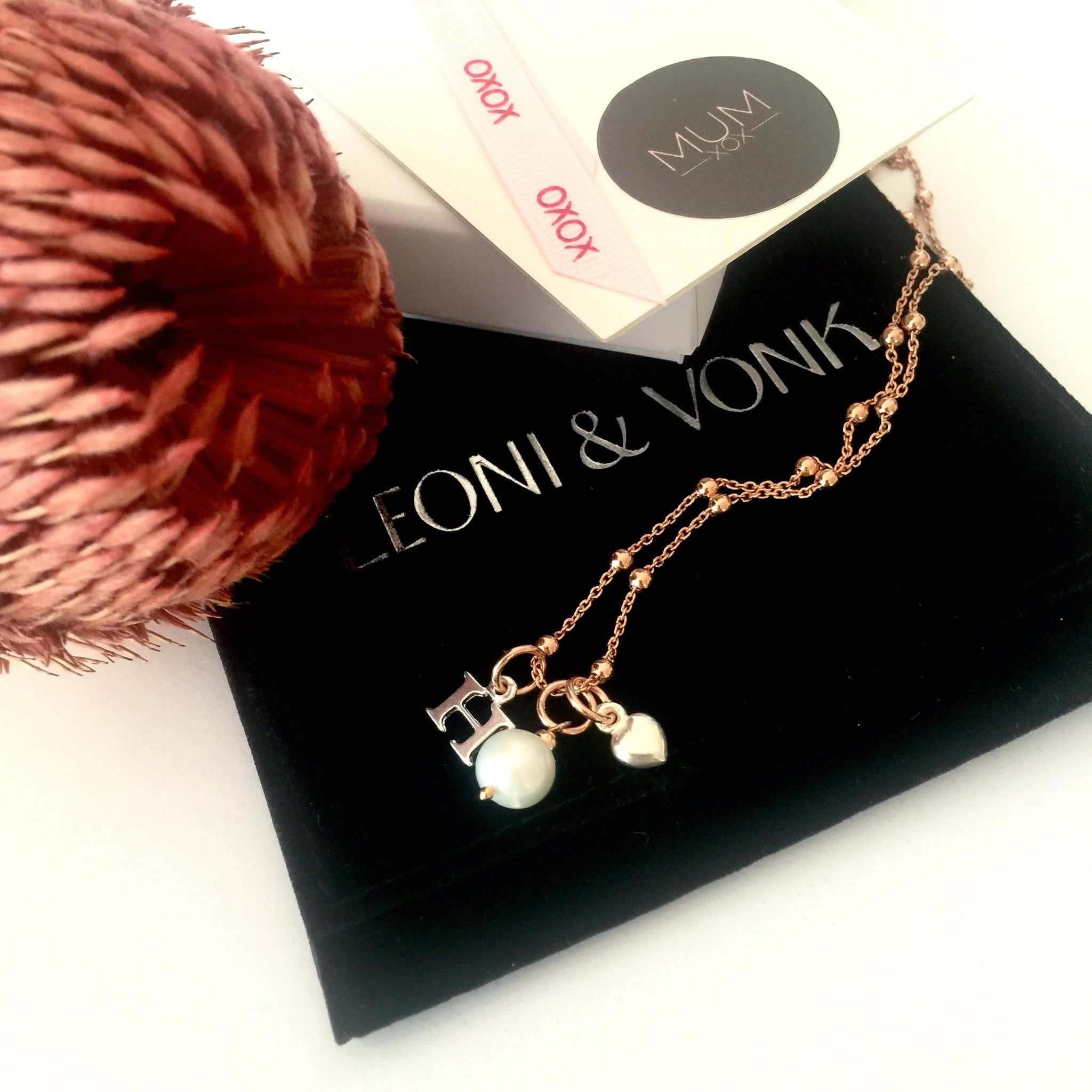 Leoni & Vonk Mothers day gift guide with personalised jewellery