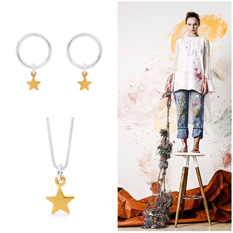 Leoni & Vonk Mothers day gift guide for the creative Mum with star jewellery