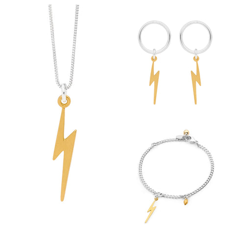 Leoni & Vonk lightening bolt jewellery