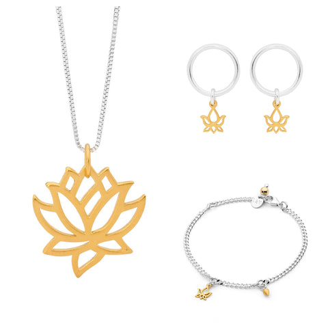 Leoni & Vonk Lotus jewellery