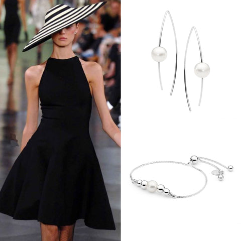 Derby day fashion with Leoni & Vonk pearl jewellery