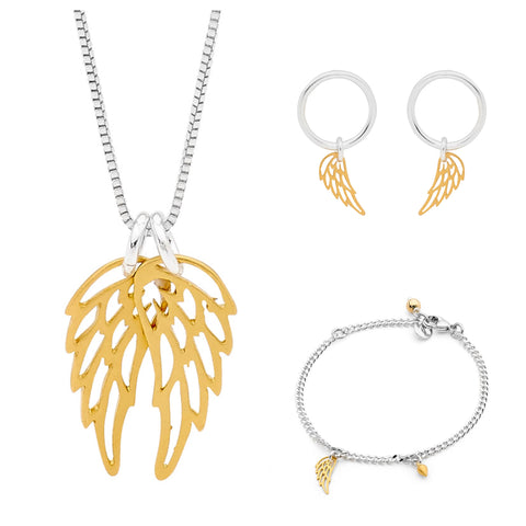 Leoni & Vonk wing jewellery