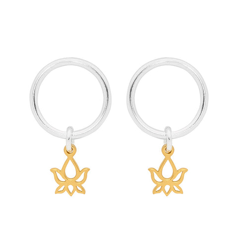 Gold Purity Earrings