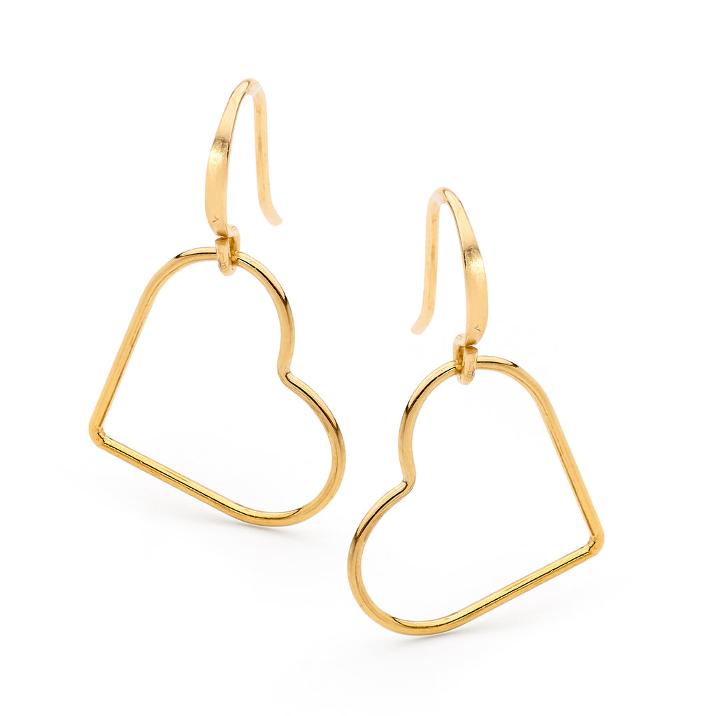 Kiki Heart Earrings