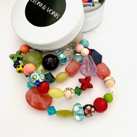 Leoni & Vonk candy beads make your ow n bracelet kit