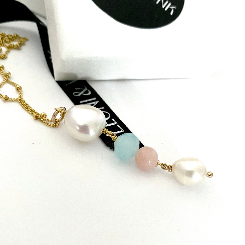 Cordelia Pearl Necklace