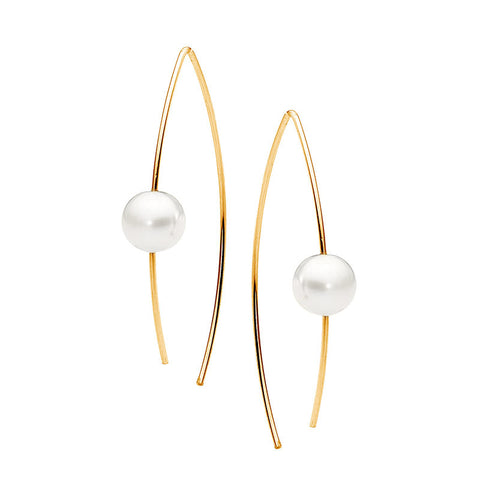 Leoni & Vonk gold and pearl earring