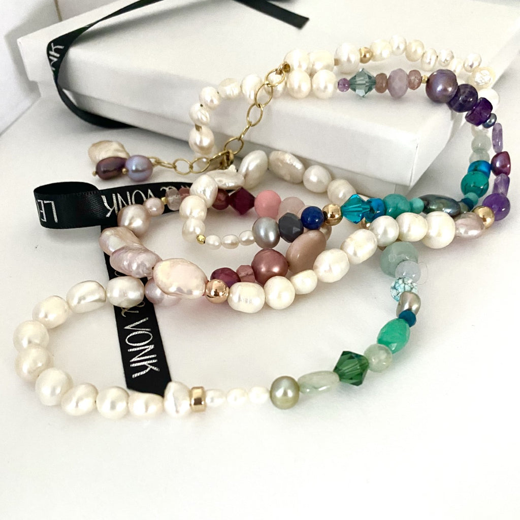 Secret Garden Luxe Pearl Multi Way Necklace