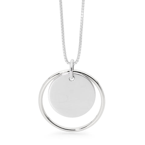 Leoni & Vonk silver eclipse necklace
