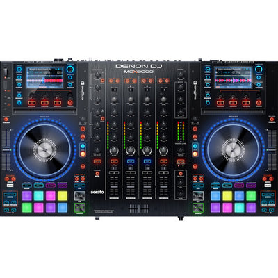 NEW Denon DJ MCX8000 Stand-alone DJ Player and DJ Controller Fast Free Shipping