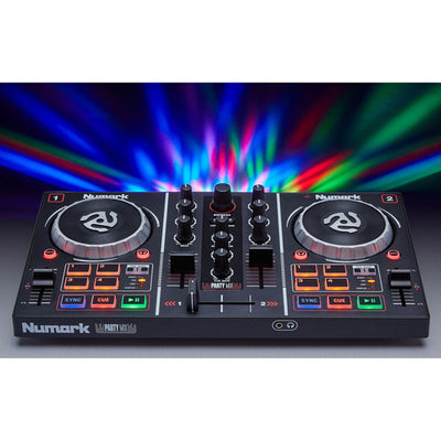 NEW Numark Party Mix DJ Controller with Built-In Light Show Free Fast Shipping