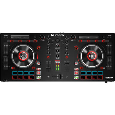 Numark Mixtrack Platinum DJ Controller with Jog Wheel Display Serato DJ Fast Shipping