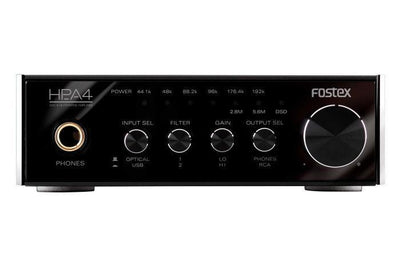 Brand New FOSTEX HP-A4 24bit DAC Headphone Amplifier USB Powered Audio Free Ship