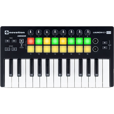 NEW Novation Launchkey Mini MK2 MKII Keyboard Controller W/Software Fast Shippin